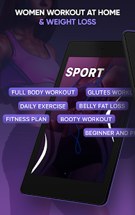 Women Workout at Home & Weight Loss - Fitness App