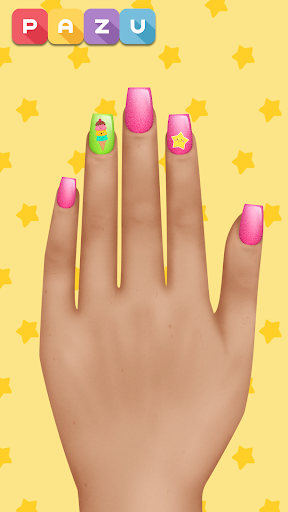 Girls Nail Salon - Manicure games for kids 1.21 Screenshots 3