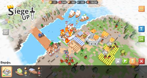 RTS Siege Up! - Medieval Warfare Strategy Offline 1.0.285 screenshots 2