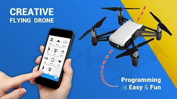 Go TELLO - programming the drone flight
