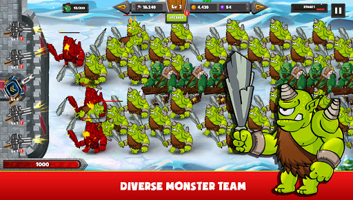 Castle Defender: Monster Wars  screenshots 20