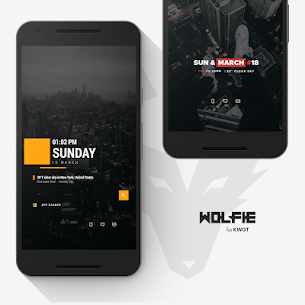 Wolfie for KWGT Apk [Paid] Download for Android 7