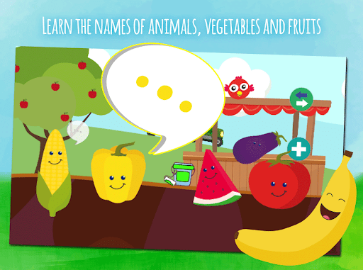 Animals & fruits -  game for toddlers from 1 year 1.0.4 screenshots 4