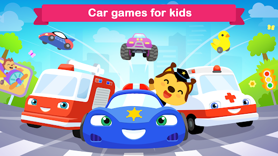 Car games for kids ~ toddlers game for 3 year olds screenshots 1