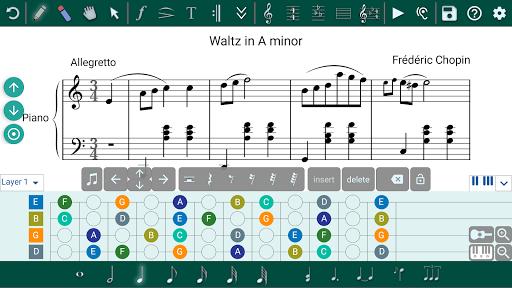 Music Writer - Sheet Music Creator and Composer 1.2.201 screenshots 2