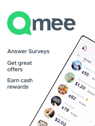 Qmee: paid surveys. Cash, quick money rewards Apkfinish screenshots 9