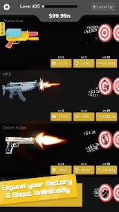 Gun Idle Mod Apk (VIP/Unlimited Money + Unlocked) 8