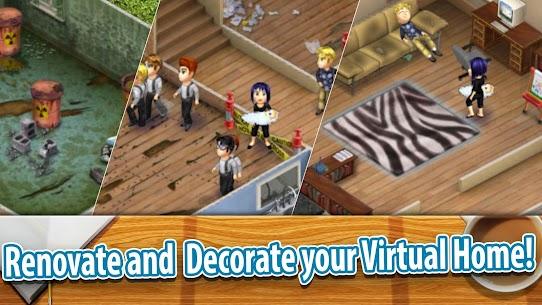 Virtual Families 2 MOD APK 1.7.6 Hacked (Unlimited Money) 2