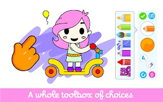 Kids Coloring Book: Painting Games For Toddler