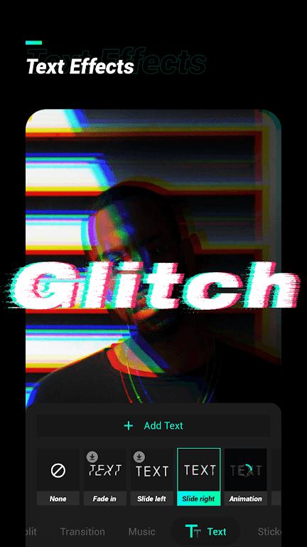Glitch Video Effect  poster 1