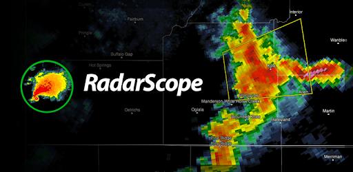 RadarScope Weather App Widget