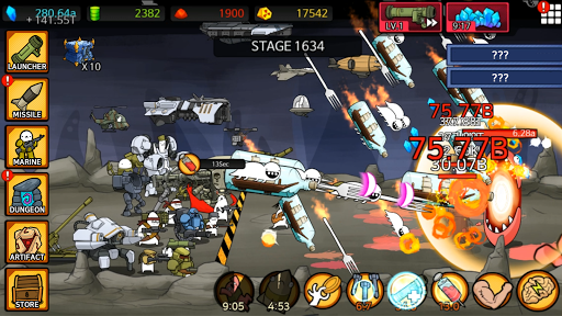 Missile Dude RPG: Tap Tap Missile 86 screenshots 23