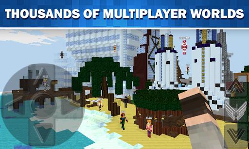 WorldCraft: 3D Build & Block Craft  screenshots 3