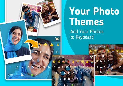 Mint Keyboard - Stickers, Font & Themes  screenshots 1