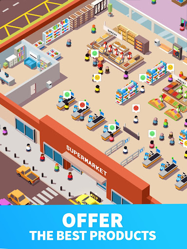 Idle Supermarket Tycoon - Tiny Shop Game 2.3.1 screenshots 10