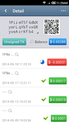Bither - Bitcoin Wallet 2.0.0 Screenshots 4