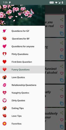 Romantic Questions to ask 💖  screenshots 1