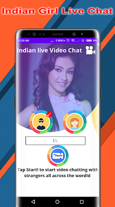 Indian Girl Live Video Chat - Random Video Chatのおすすめ画像4