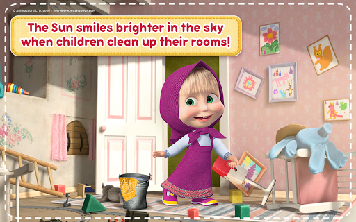 Masha and the Bear: House Cleaning Games for Girls 2.0.0 screenshots 19
