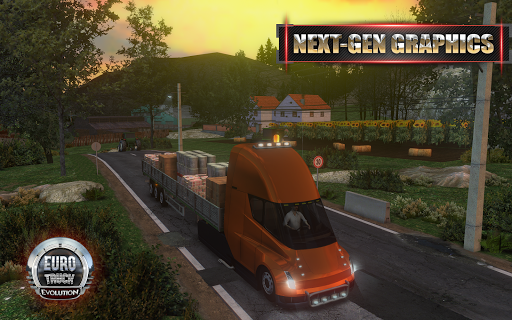 Euro Truck Driver APK MOD – Pièces Illimitées (Astuce) screenshots hack proof 1