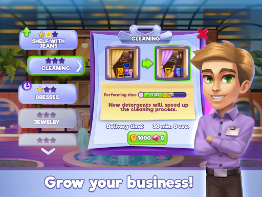Fashion Shop Tycoon apkpoly screenshots 11