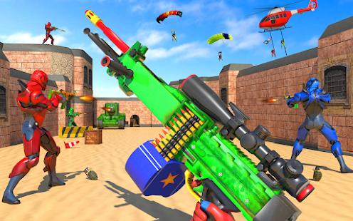 PvP Team Player 2021 4v4 Shooting Strike Missions 1 screenshots 1