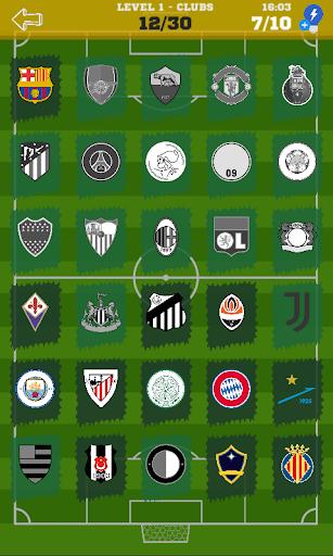 Quiz Football Logo 2021 Clubs and National Teams u26bd 1.0.16 screenshots 2