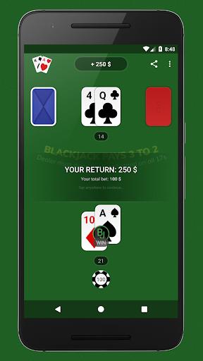 Blackjack - Free & Offline 1.7.1 Screenshots 2