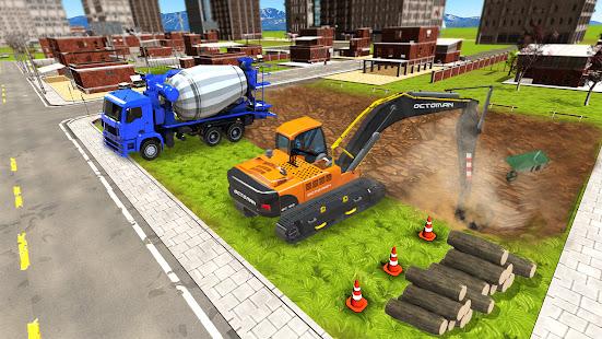 Excavator Construction Simulator: Truck Games 2021 1.5 screenshots 7