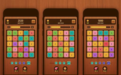 Mergezilla - Number Puzzle Apkfinish screenshots 8