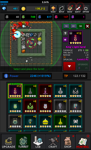 Grow Turret - Idle Clicker Defense apkslow screenshots 3
