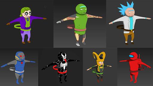 Monsters Gang 3D - Gang Beasts apktram screenshots 7