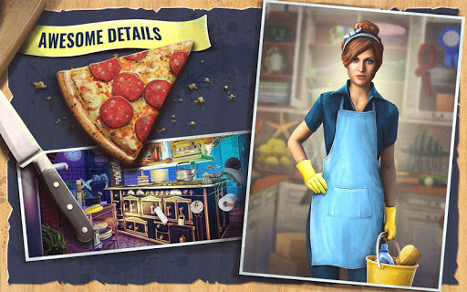 Hidden Objects Kitchen Cleaning Game screenshots 3