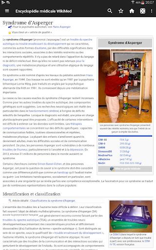 WikiMed - Wikipu00e9dia mu00e9dicale hors-ligne  Screenshots 2