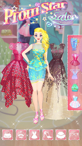 ud83dudc83u2b50Prom Star Salon - Girl Dress Up 2.5.5038 screenshots 8