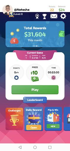 Play and Win - Win Cash Prizes! 3.54 screenshots 1