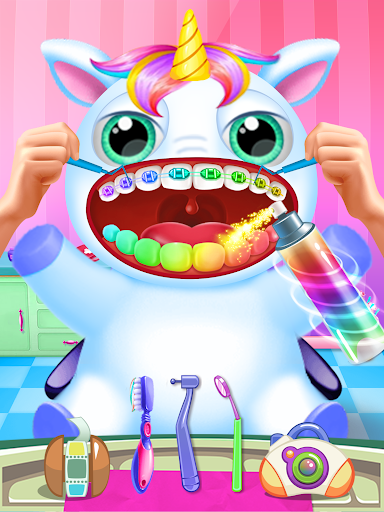 Little Unicorn Pet Doctor Dentist 6 screenshots 11