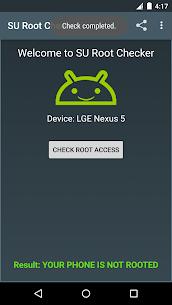 SU Root Checker Apk Download NEW 2021 4