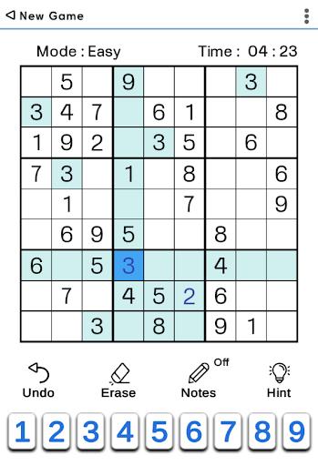 Sudoku Classic  screenshots 5