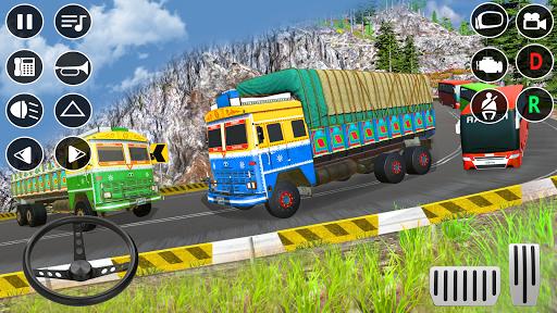 Indian Truck Modern Driver: Cargo Driving Games 3D apktram screenshots 12