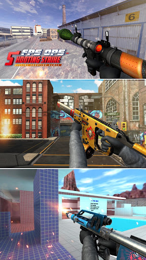 FPS OPS Shooting Strike : Offline Shooting Games screenshots 8