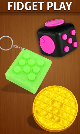 Anti stress fidgets 3D cubes - calming games apkpoly screenshots 1