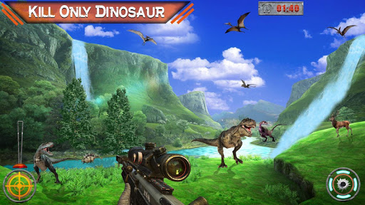 Dino Hunter 3D - Dinosaur Survival Games 2021 Apkfinish screenshots 14