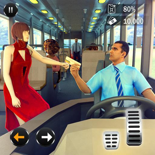 Baixar Passenger Bus Taxi Driving Simulator para Android