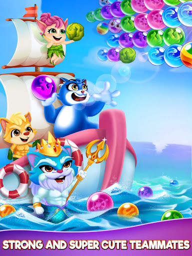 Cat Pop Island: Bubble Shooter Adventure 8.5 screenshots 12
