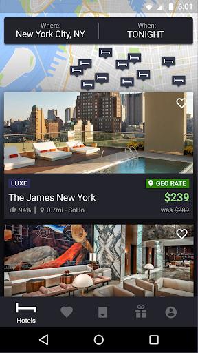 HotelTonight: Book amazing deals at great hotels 20.10.0 screenshots 1