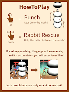 MOTCHI MAN : MochiMotchin Punch Hack for Android and iOS 1