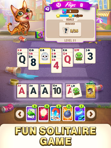 Solitaire Pets Adventure - Free Solitaire Fun Game  screenshots 2