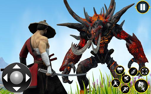 Shadow Ninja Warrior - Samurai Fighting Games 2020 1.3 screenshots 7