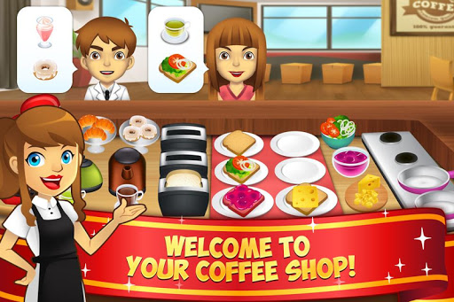 My Coffee Shop - Coffeehouse Management Game 1.0.46 updownapk 1